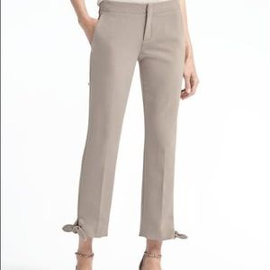 Banana Republic Avery Khaki Dress Pants